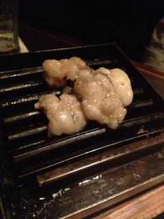 炭火ホルモン焼き 牛シマチョウ