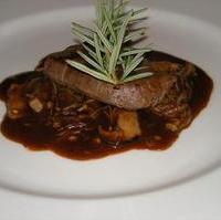 牛ヒレ肉のステーキ