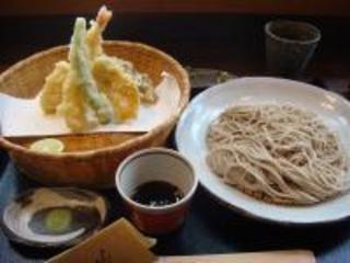 蕎麦と季節の天ぷら