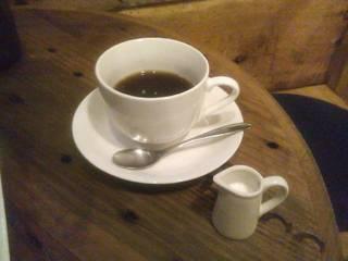 挽きたてコーヒー