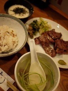 牛たん焼き定食