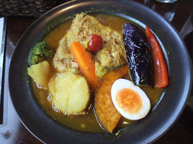 チキン野菜カレー