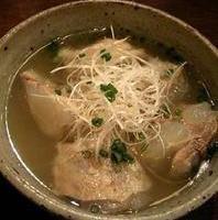 ぶたスジ豆腐