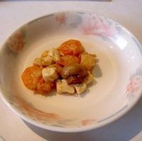 海の幸と豆腐の煮込み
