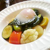 蒸し野菜プレート