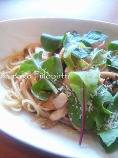 ポルチーニと3種きのこのスパゲティーランチセット