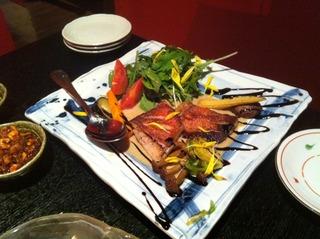 金目鯛のステーキ