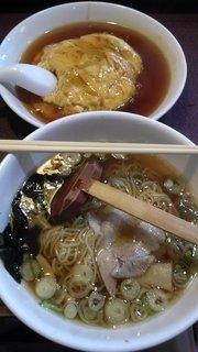 天津飯ランチ
