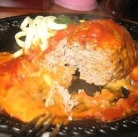 イタリア風ハンバーグ