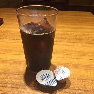 アイスコーヒー(ドリンクバー)