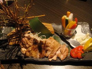 奥丹波鶏のスパイス焼