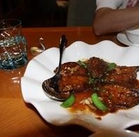 茄子の味噌肉炒め