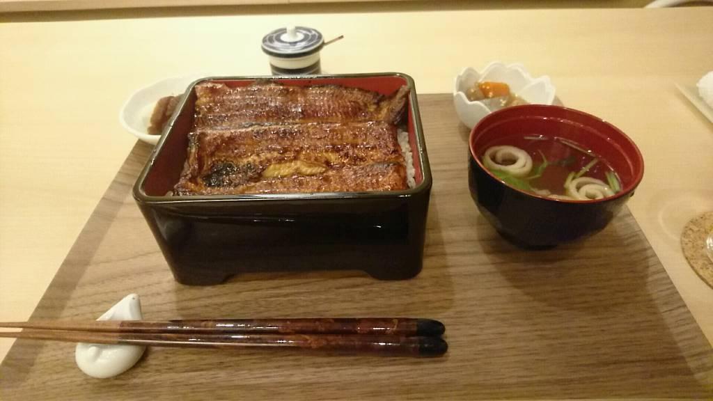 天然鰻 鰻重(松)