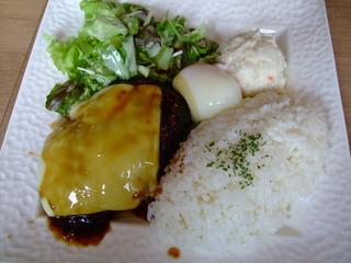ロコモコ チーズ