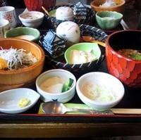 ミニ鯵丼セット