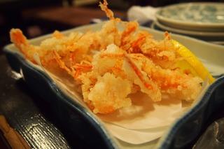 四万十海老の天ぷら