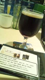 季節のオムライスとヤッホーブルーングの『好みなんてきいてないぜSORRY』という生ビール