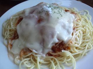 チーズミートスパゲティ