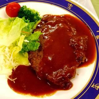 エゾシカハンバーグ定食