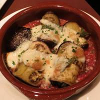 茄子とモッツァレラチーズのインボルティーニ