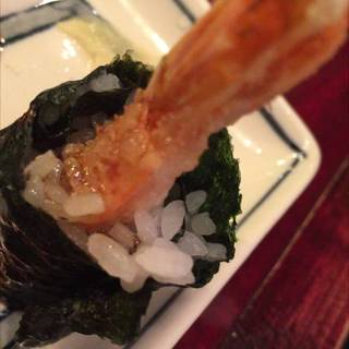 海老天巻き寿司