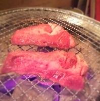 国産牛赤身七輪焼き