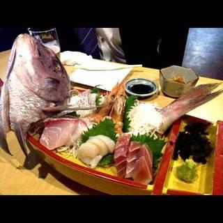 鮮魚の刺身盛合せ