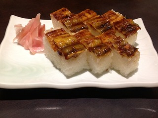 穴子の押寿司