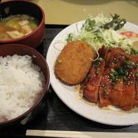 若鶏の韓国味噌焼き定食