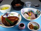 金目鯛煮魚定食