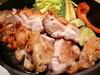 いわい地鶏と有機野菜の旨塩焼き