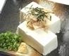 新鮮豆腐の冷奴