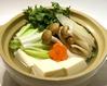 あつあつ土鍋の湯豆腐