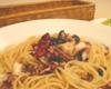 タコとオリーブのスパゲッティ