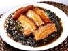 岩のりと豚バラ肉の醤油煮