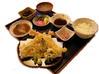 ジャンボ海老天ぷら定食