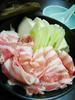 豚すき豆腐鍋