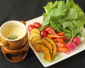 彩り野菜のバーニャカウダ風