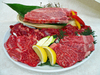 ステーキ付 お肉たっぷり盛り
