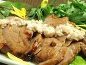 豚バラ肉の塩麹漬焼き