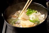 八戸せんべい汁鍋
