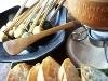 お生麩と生湯葉の味噌チーズフォンデュ
