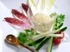 白味噌ムースと野菜スティック