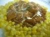 鶏肉のチリソース煮