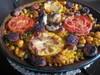 NEWチョリソーと豆のパエリャ
