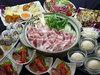 豚チゲ鍋コース