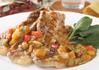 豚肉と彩り野菜のレッドカレーソース