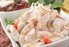 豚しゃぶと豆腐のサラダ