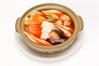 河豚と豆腐の四川風土鍋煮