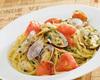 [オイルベース] アサリとトマトのペペロンチーノ